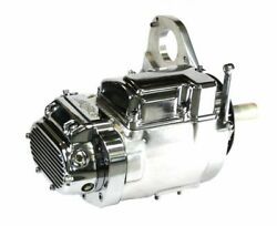 NEW POLISHED and CHROME 6 SPEED LSD TRANNY FOR HARLEY SOFTAIL 1991 1999 $799.99