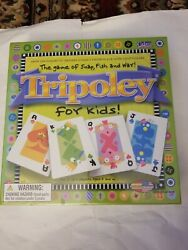 Tripoley For Kids Game Of Snap Fish And War Euc Family Card Game Sealed