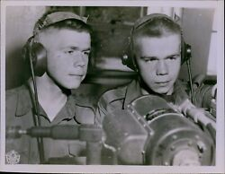 Ga38 1953 Original Photo Double Trouble For The Sergeant Royal Canadian School