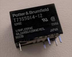 2x Potter And Brumfield Relay Spdt 120vac 6a Contact Rating, 12vdc Coil Voltage