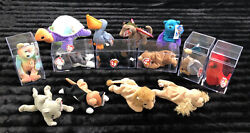 Beanie Babies. First Generation Lots Of Errors Rare