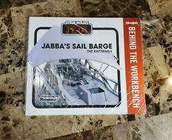 Jabbaand039s Sail Barge The Khetanna Star Wars The Vintage Collection Book Workbench