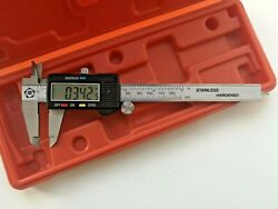 Lcd Display Electronic Digital Vernier Caliper Micrometer Guage With Case