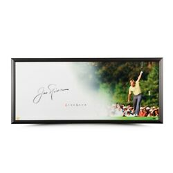 Jack Nicklaus Signed Autographed 20x46 Framed Photo The Show The Putt Uda