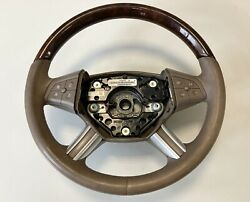 Wood And Leather Steering Wheel R-class