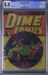 Dime Comics 23 Bell Features Canadian Edition Classic Dingle Cover