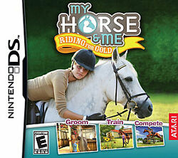 My Horse amp; Me: Riding for Gold Nintendo DS 2009 Complete Tested And Works