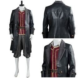 Kingdom Hearts Iii Sora Pirate Cosplay Costume Outfit Halloween Suit Full Set