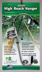 High Reach Hanger Large for Bird Feeders Wind Chimes Baskets etc. $12.99