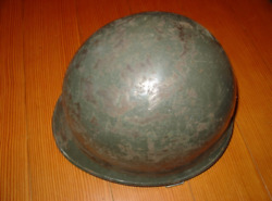 Old iron helmet helmet iron cap old Japanese army Force 66 type iron cap Y