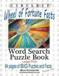 Circle It Wheel Of Fortune Facts Word Search Puzzle Book Brand New Free ...