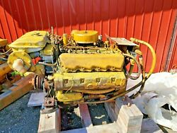 Used Caterpillar 3208 210 Hp Rto Unknown Hours But High Hours