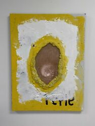 Reflect Ryan Anthony Sand And Clay Painting Original Artwork