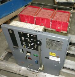 Square D Ds-416s 1600a Amptector I-a Lsig Air Breaker Westinghouse Ds416