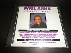 Classic Hits By Paul Anka-rare Collectible Cd With My Way And More-10 Tracks--cd