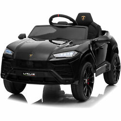Kidzone 12v 7ah Kids Ride On Electric Tractor W/trailer Led, Usb And Horn