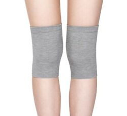 1 Pair Womenand039s Summer Breathable Air-conditioned Room Thin Knee Pads Gray M