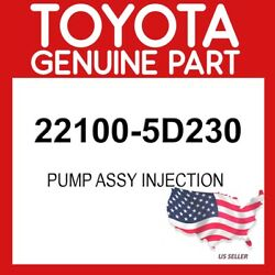 Toyota Genuine Oem 22100-5d230 Pump Assy Injection 221005d230