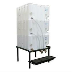Tote-a-lube Gravity Feed System 3 130 Gallon Tanks