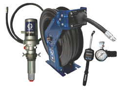 51 Graco Ld Pump Kit With 50ft. Sd Reel And Preset Meter