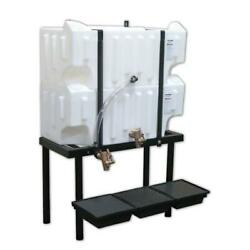Wall-stacker Gravity Feed System 2 32 Gallon Tanks