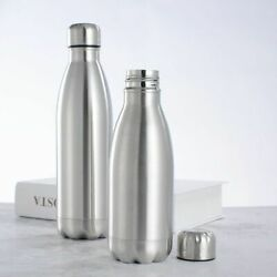Bottle Insulated Stainless Steel Sports Water Vacuum Flask Single Wall Hot Cold