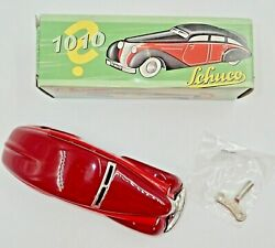 Schüco Wende Limousine 1010 Red Tin Wind Up W/ Original Box And Key New Condition
