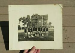 St. Matthew's School Military Academy Basketball Team Photograph Picture 1908
