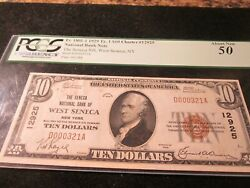 Fr. 1801-1 1929 Ty.1 10 Charter 12925 Graded Pcgs About New 50 Rare Note
