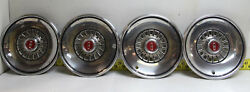 Oem Set Of 4 14 Hubcaps D9az-1130-b 1979-1983 Ford Crown Victoria Ltd 7692785