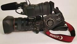 Canonxl-h1 3-ccd Native 169 High Definition 1080i Camcorder 20x Hd Video Lens