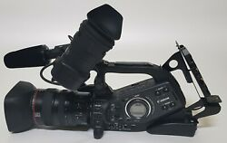 Canonandnbspxl-h1 3-ccd Native 169 Hd 1080i Camcorder 20x Hd Zoom Lens W/gold Mount