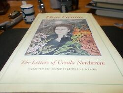 Dear Genius : The Letters of Ursula Nordstrom by Ursula Nordstrom and Leonard... $3.00