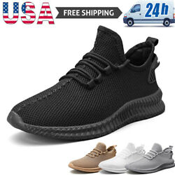 Men#x27;s Athletic Sneakers Lightweight Running Jogging Tennis Shoes Casual Walking