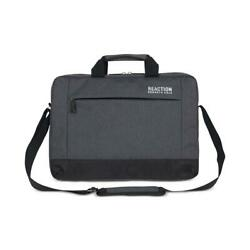 Kenneth Cole Reaction Mens Clouded Gray Travel Messenger Bag O S BHFO 8272 $8.99