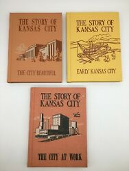 Lot Of 3 The Story Of Kansas City Books 1967 By Emma Serl Kc Board Of Education