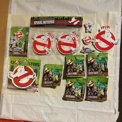 Ghost Busters Bundle - Ecto Miniand039s - Notepads - Sticker - Erasers