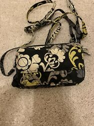 vera bradley all in one crossbody wallet $15.00