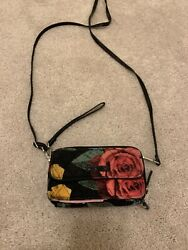 vera bradley all in one crossbody wallet $20.00