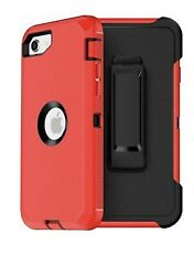 For Iphone Se 2020 Case With Screen Protector Belt Clip Fit Otterbox Defender