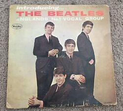 Introducing The Beatles - England's No. 1 Vocal Group - Vee Jay Records - Lp1062