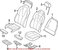 Genuine Oem Seat Cover For Bmw 52 10 8 066 531