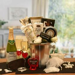 Deluxe Romantic Evening For Two Gift Basket $125.25
