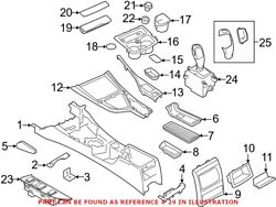 Genuine Oem Automatic Transmission Shift Lever For Bmw 61 31 7 950 384