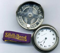 0 Size South Bend Pocket Watch Movement New-old-stock In Original Tin