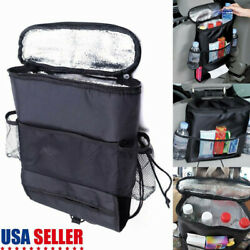 Car Auto Seat Back Multi Pocket Storage Bag Organizer Holder Travel Hanger