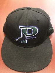Princeton Devil Rays New Era 5950 Fitted Hat Cap Size 7 Made In Usa Milb Vtg