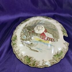Johnson Brothers Friendly Village Made In England Back Soup Tureen Lid