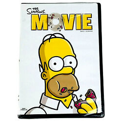 The Simpsons Movie Dvd 2007 Full Screen New Sealed