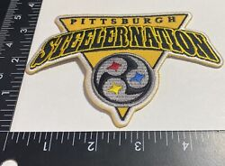 Rare Pittsburgh Steelers ☝️ Iron On Patch 🏈ps123